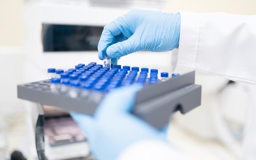badanie laboratoryjne wprobówce